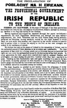 The Proclamation of the Irish Republic
